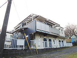 東京都町田市東玉川学園2丁目の賃貸アパートの外観