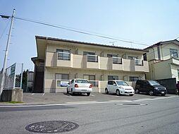 福島県福島市鳥谷野字下宿の賃貸アパートの外観