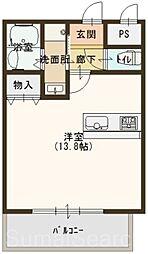 トリニティ・コート新金岡[4階]の間取り