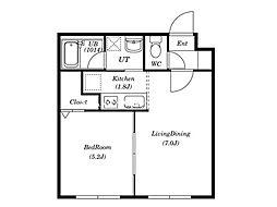 ブランノワールレサンテ514[4階]の間取り