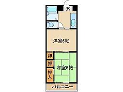 MOCHIZUKIマンション[2階]の間取り