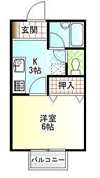 国府津駅 3.4万円