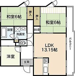 サンシャイン高須[1階]の間取り