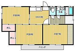 [一戸建] 新潟県新潟市中央区親松 の賃貸【/】の間取り
