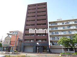 愛知県名古屋市西区上名古屋2の賃貸マンションの外観