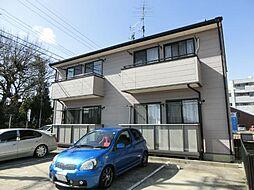 愛知県清須市一場福島丁目の賃貸アパートの外観