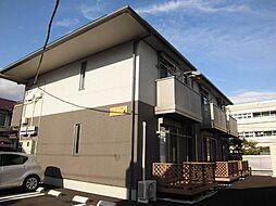 静岡県静岡市駿河区曲金4丁目の賃貸アパートの外観