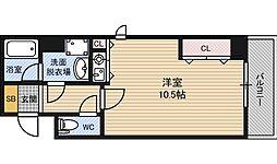 サニーセレクトコーポ[4階]の間取り