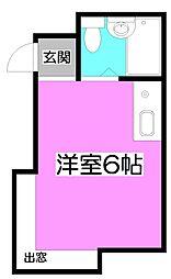 プラスム朝霞台[1階]の間取り