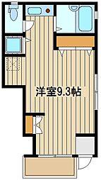 東京都練馬区東大泉5の賃貸アパートの間取り