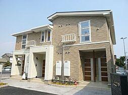 兵庫県姫路市飾磨区城南町1丁目の賃貸アパートの外観