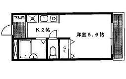 アメニティ岩倉[205号室号室]の間取り
