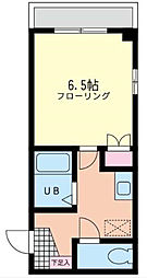 神奈川県相模原市中央区淵野辺4丁目の賃貸アパートの間取り