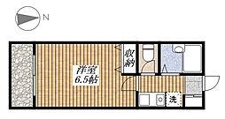 あずまマンション[303号室]の間取り