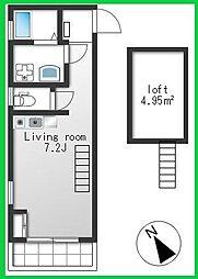 BiBi HOUSE[2階]の間取り