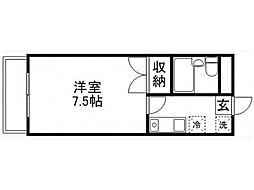 ピアシティII[2階]の間取り