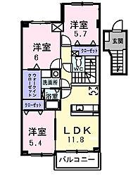 アリア ステージ[4階]の間取り