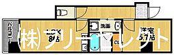 福岡県福岡市博多区半道橋2丁目の賃貸マンションの間取り