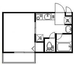 パストラル田端ポプラ[2階]の間取り