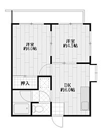 パルハイム[3階]の間取り