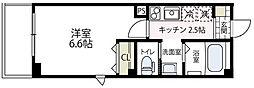 神奈川県横浜市西区伊勢町3丁目の賃貸マンションの間取り