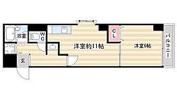 サンモリタ[2階]の間取り