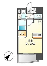 プレサンス新栄リミックス[9階]の間取り