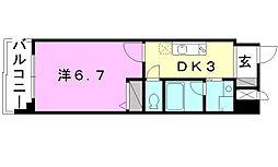 第11ドリームマンション[303 号室号室]の間取り