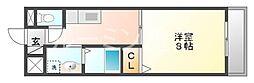 ドミール・シモハタ[3階]の間取り