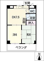 ANNEX YASUI[3階]の間取り
