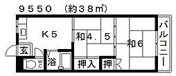高橋マンション[102号室号室]の間取り