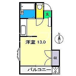 細川ビル[2階]の間取り