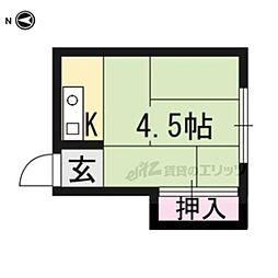 北山駅 1.8万円