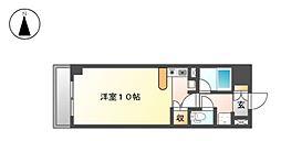 栃木県宇都宮市星が丘2丁目の賃貸マンションの間取り