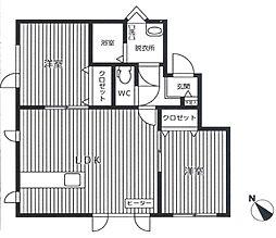 [テラスハウス] 北海道札幌市北区新琴似六条13丁目 の賃貸【/】の間取り