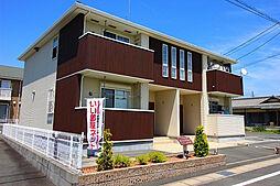 静岡県磐田市高見丘の賃貸アパートの外観