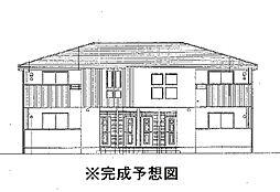 香川県三豊市豊中町下高野の賃貸アパートの外観