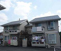 京都府京都市右京区嵯峨罧原町の賃貸アパートの外観