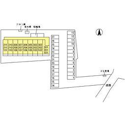 (仮)オッツ内ケ島[201号室]の外観