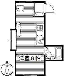 本町ヒルズ[2階]の間取り