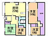 間取り,4LDK,面積126.27m2,賃料8.5万円,JR函館本線 大麻駅 徒歩4分,,北海道江別市文京台東町18番地14