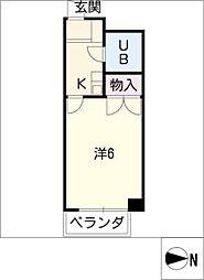 Surfer Dream II[3階]の間取り