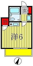CASA ISHI I[102号室]の間取り
