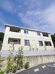 東京都東大和市奈良橋2丁目の賃貸アパートの外観