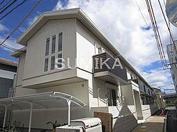 岡山県岡山市北区島田本町1丁目の賃貸アパートの外観