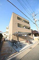 兵庫県尼崎市西川2丁目の賃貸アパートの外観