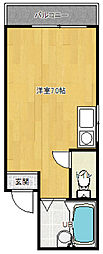 ZEBRA[4階]の間取り