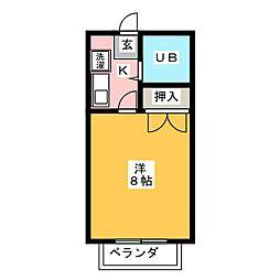 サクセスK[1階]の間取り