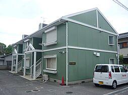 大阪府茨木市北春日丘3丁目の賃貸アパートの外観