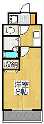 ハピネスoike[406号室]の間取り